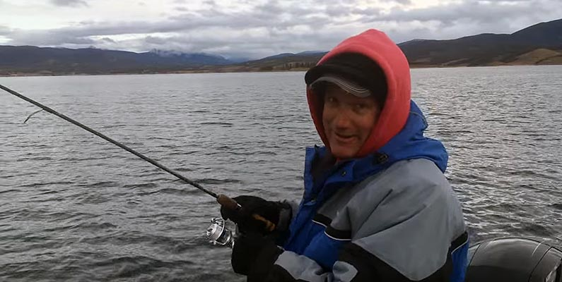 Fishing with Bernie Keefe