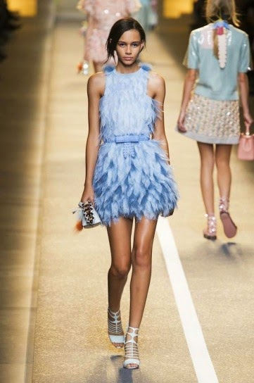 tendencias moda plumas primavera verano 2015