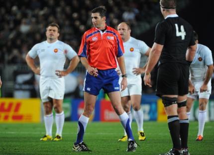 Insultes craig joubert arbitre finale france nouvelle - Arbitre finale coupe du monde rugby 2011 ...