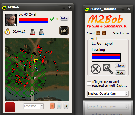 m2von Metin2 Hile M2Bob 1.7.1 Güncel Yeni Versiyon 01.12.2012 indir