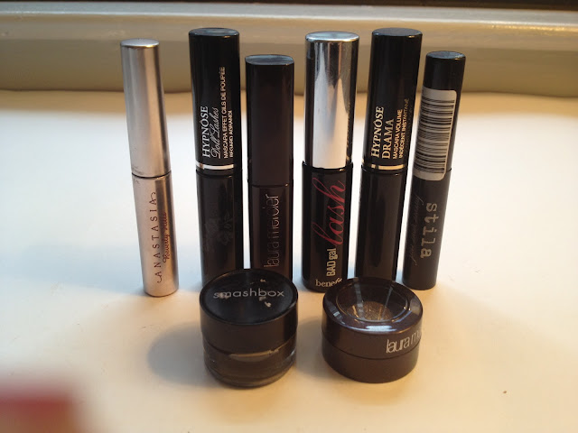 Mascara, Eyeshadow, Gel Liner Minis