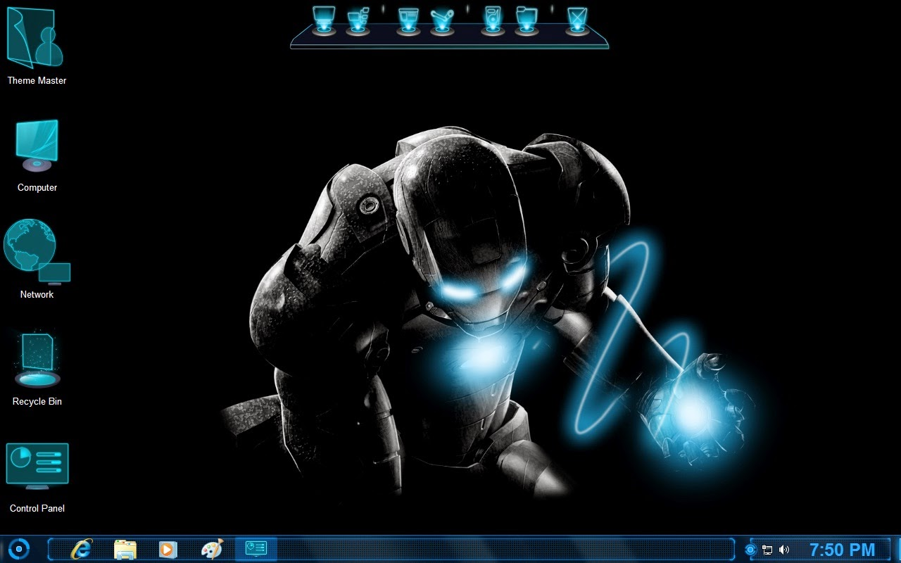 Iron Man Jarvis Transformation Pack for Windows 7 / 8 / 8.1