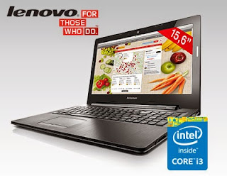 Laptop Lenovo Intel Core i3 z Biedronki