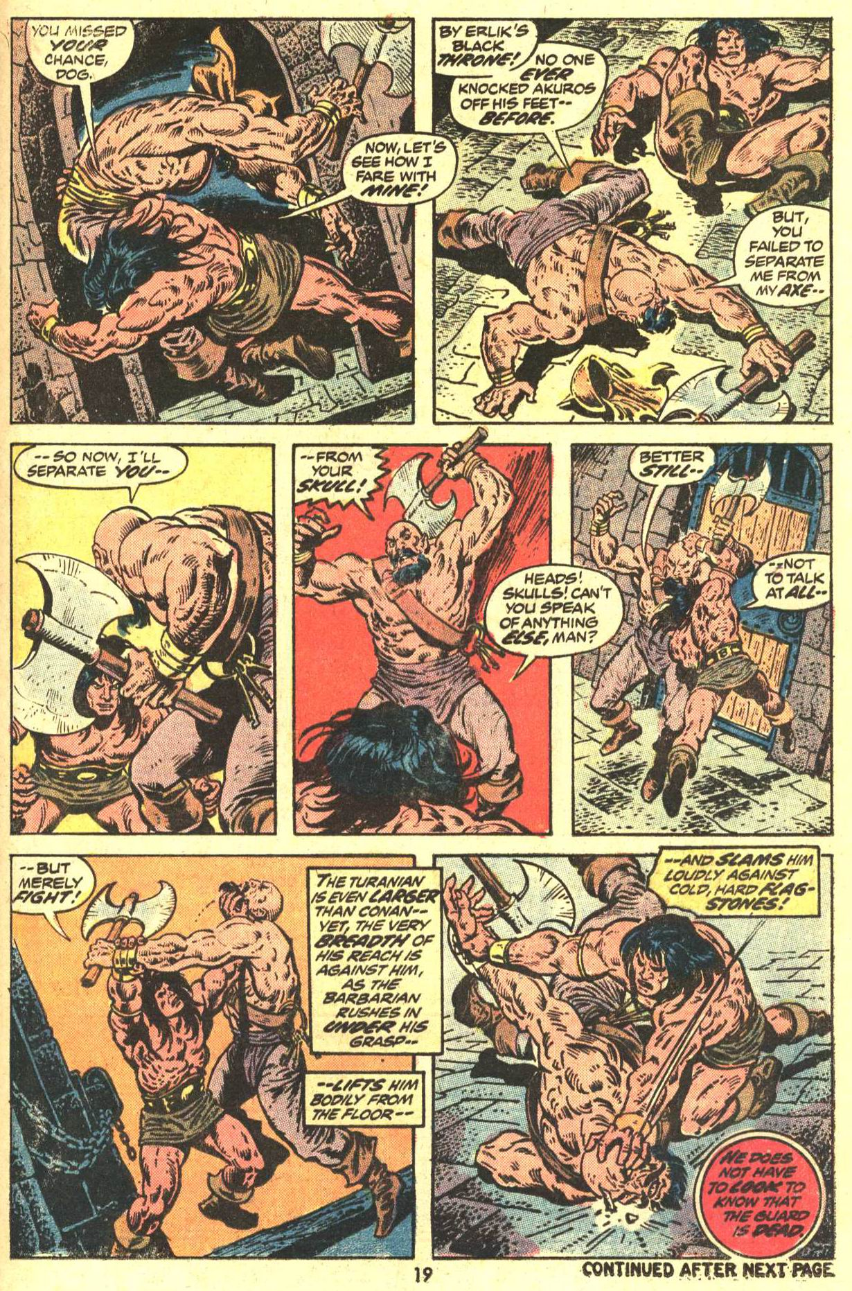 Conan the Barbarian (1970) Issue #29 #41 - English 15