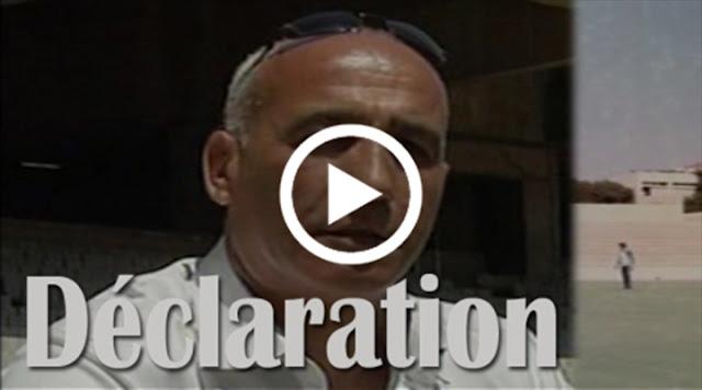 VIDÉO . Déclaration de Iboud ex président et joueur de la JSK
