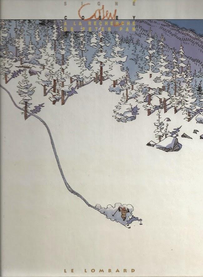 Cosey, couverture de A la recherche de Peter Pan T1 Le Lombard