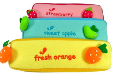 fruit pencil cases at CoolPencilCase.com