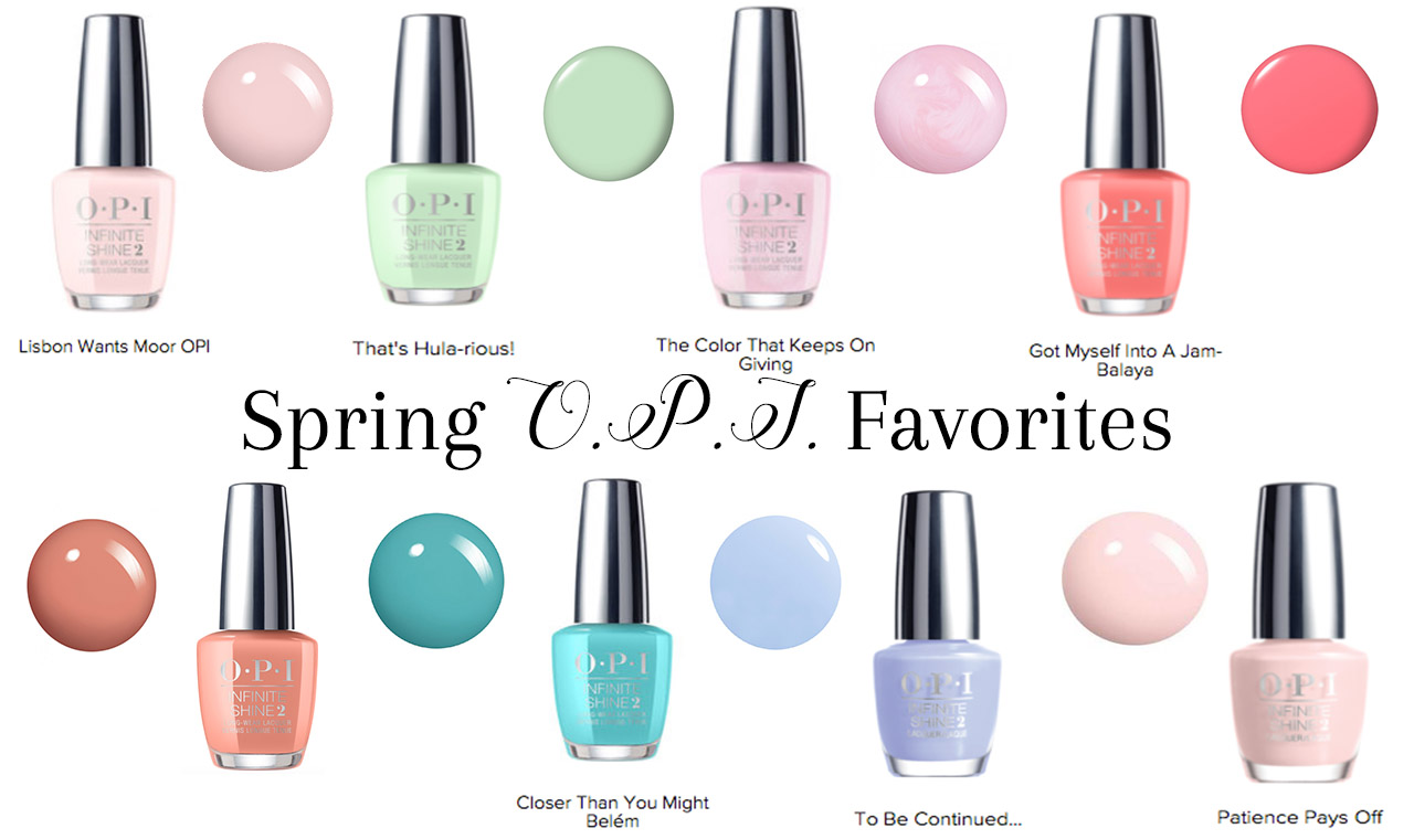 36 Spring Nail Polish Colors To Rock For Easter - The Monogrammed Life
