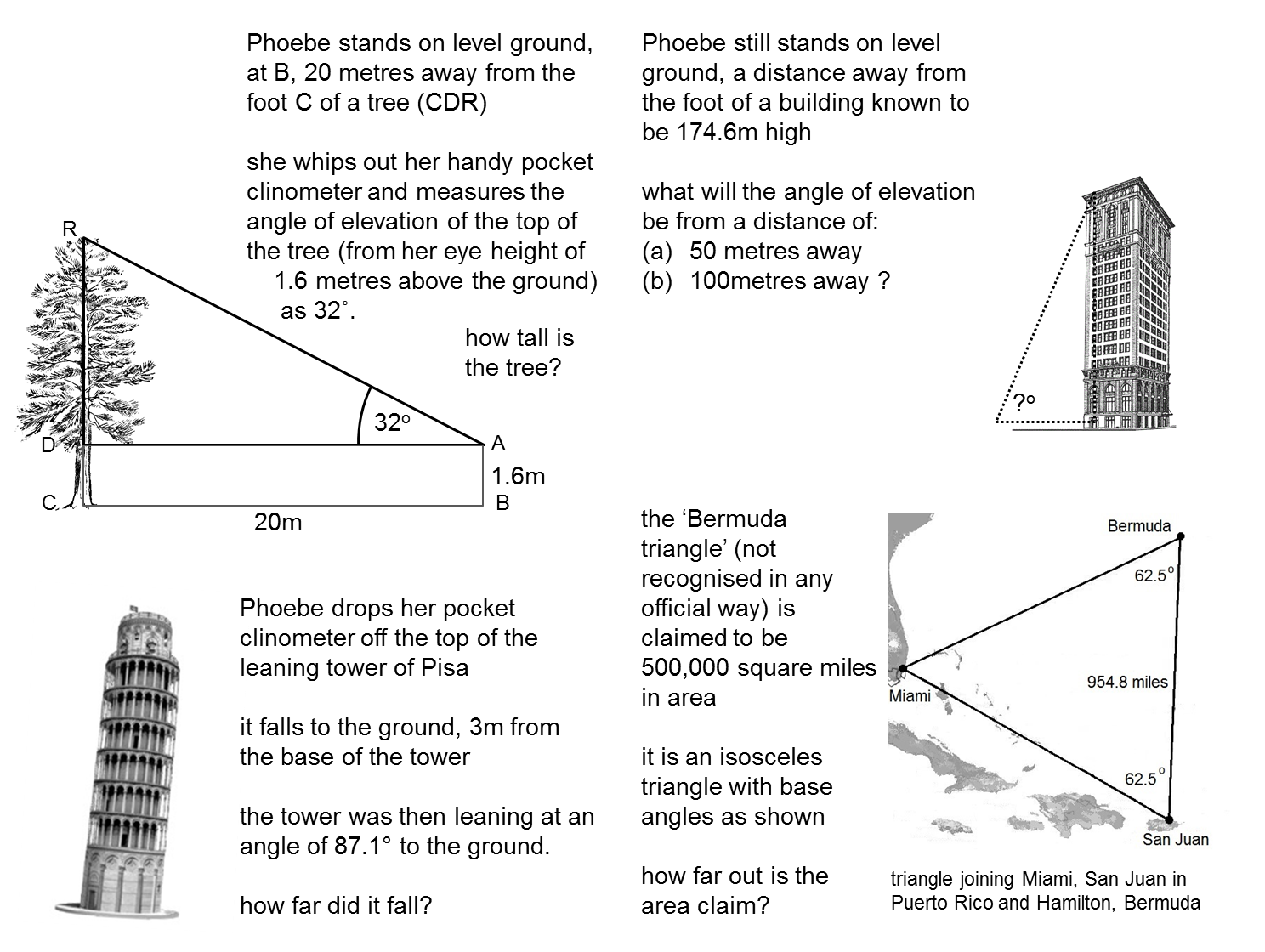 Resourceaholic Teaching Trigonometry – Similar Triangles Worksheet Pdf
