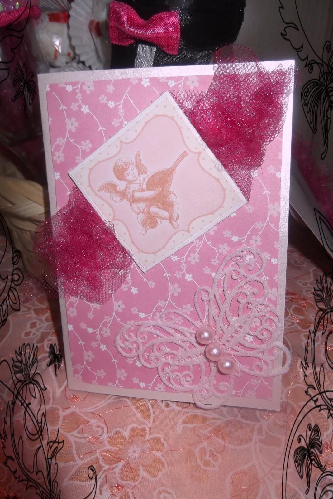 Розовые подарки на свадьбу 82