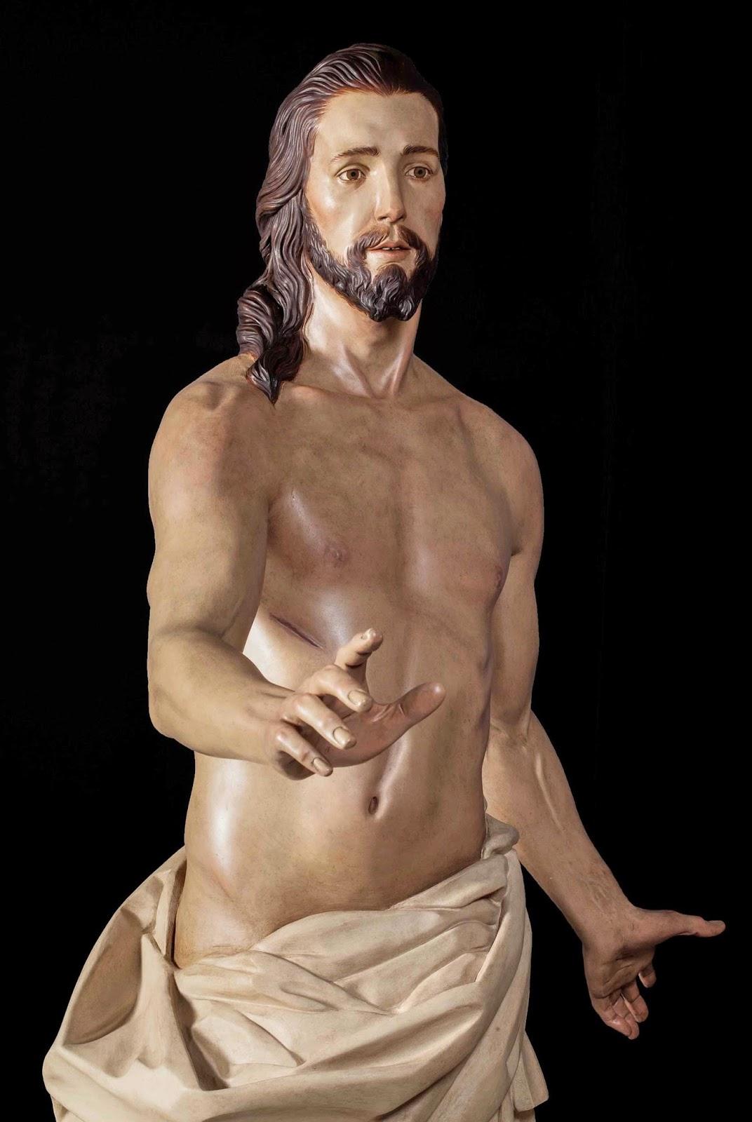 Resucitado Semana Santa Jumilla escultura 4