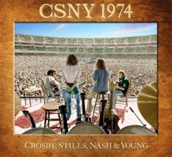 Crosby, Stills, Nash and Young CSNY 1974 CD  / DVD