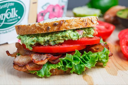 Guacamole BLT on Closet Cooking
