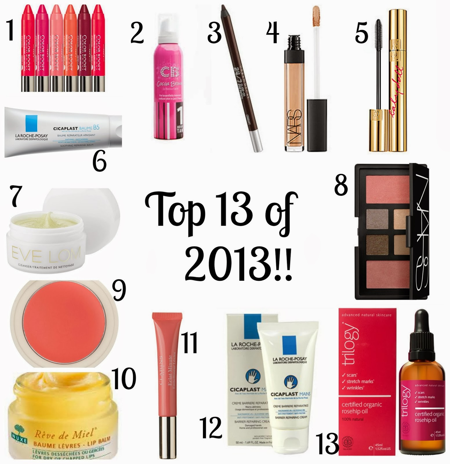 Best beauty products 2013