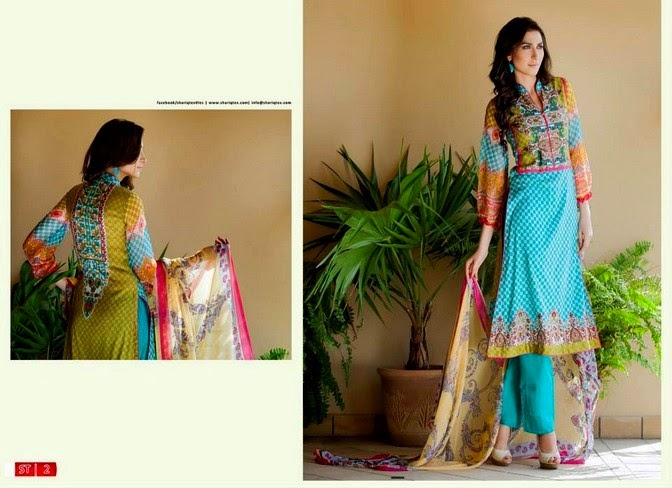 Natural Fashion in Libas Summer Lawn