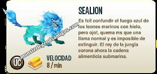 imagen de la descripcion del monstruo sealion