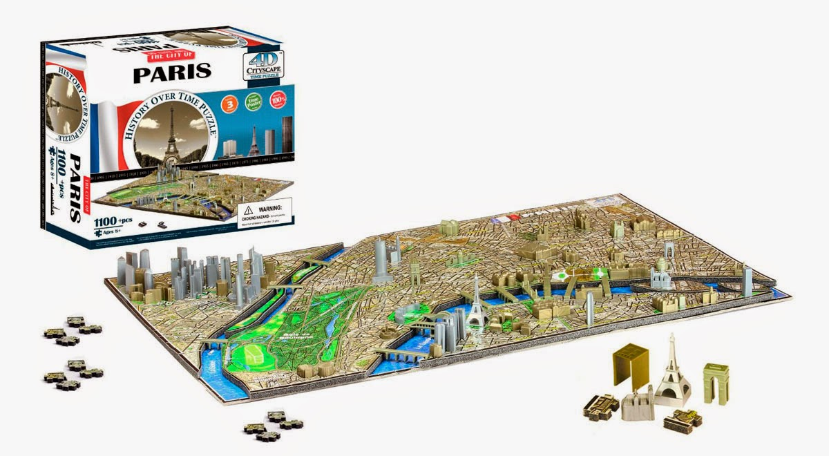 Puzzle 4D Ciudad de París