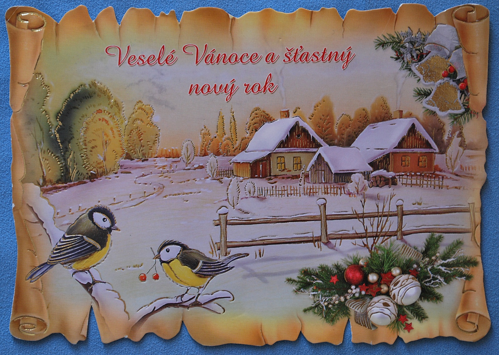 A Boy On An Island Blogs Christmas Card Czech Republic