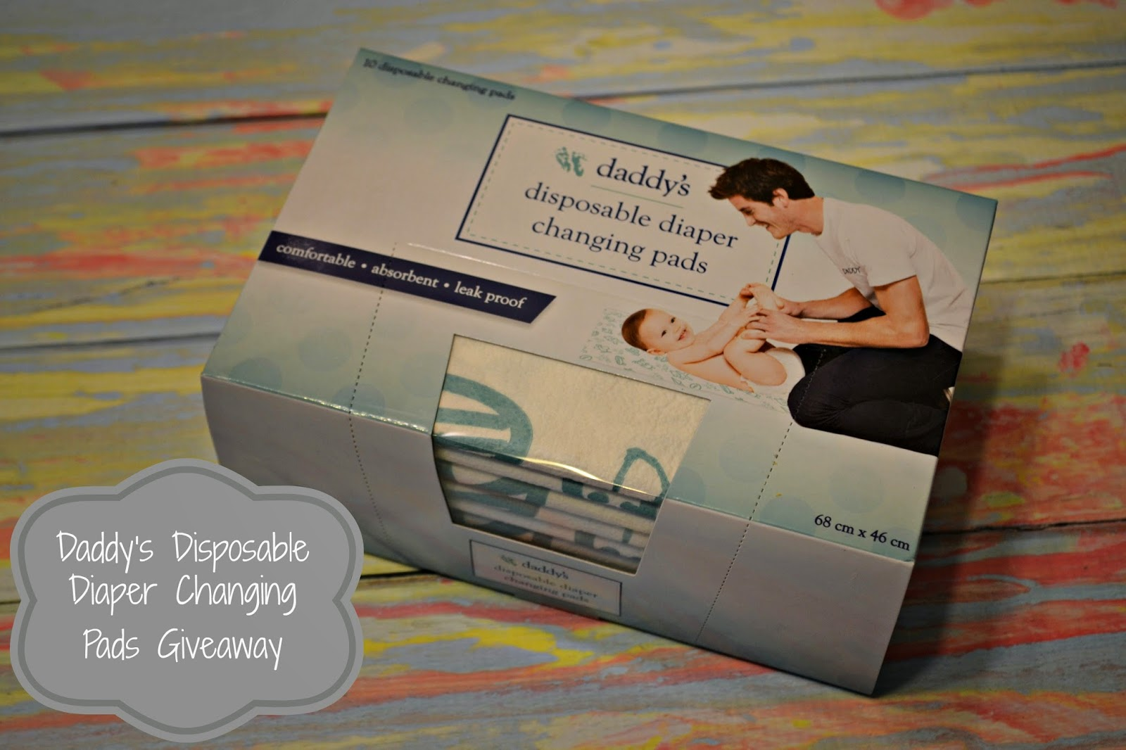 Daddy & Company Disposable Diaper Changing Pads {Review and #Giveaway}