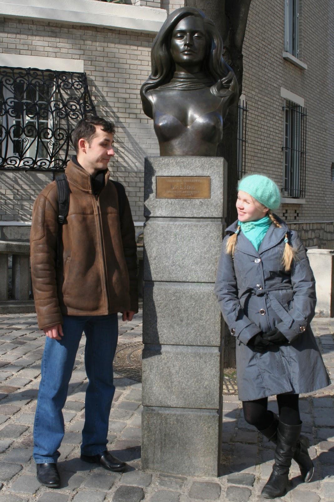 Памятник Далиде
