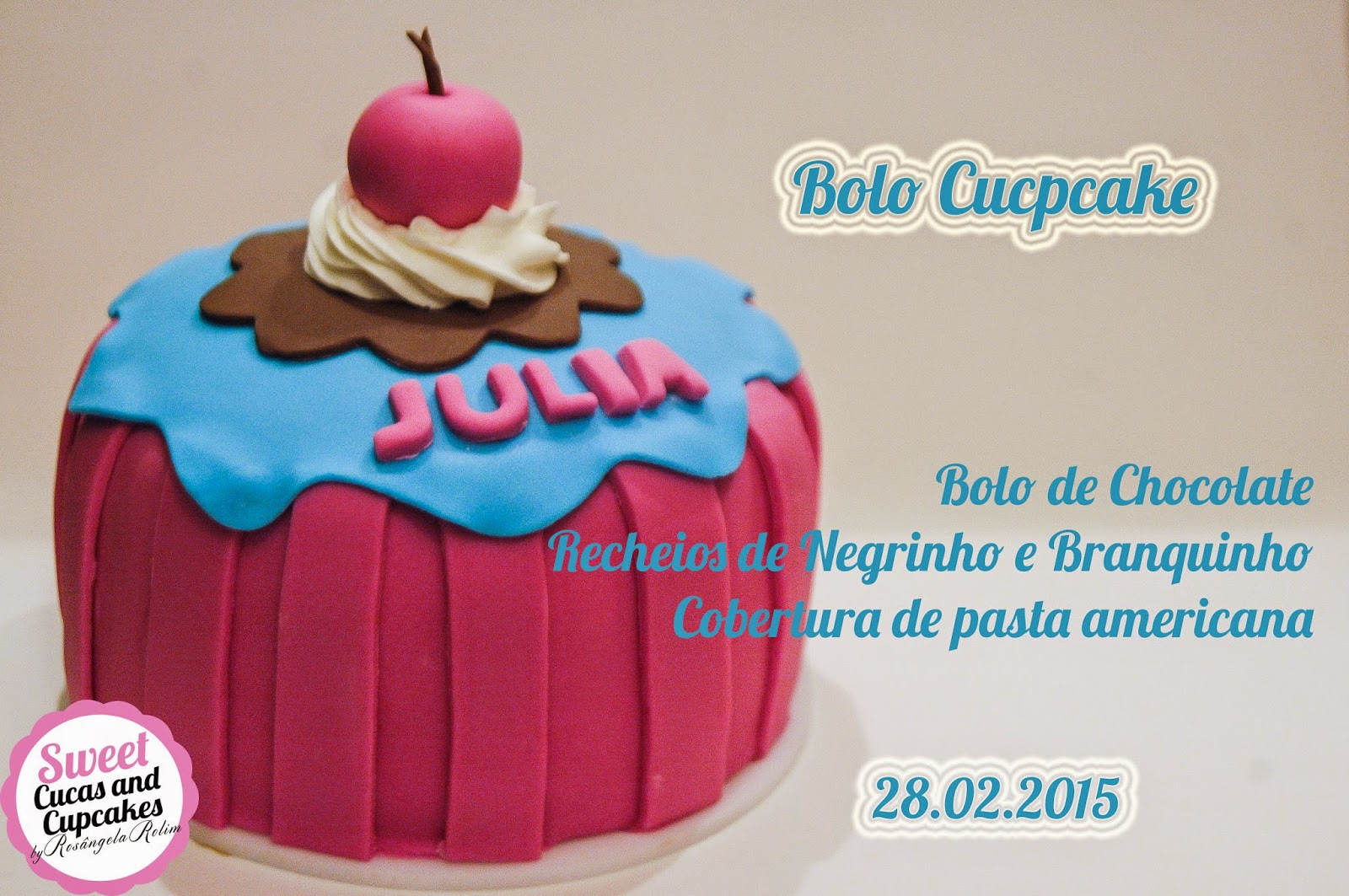Sweet Cucas And Cupcakes By Rosângela Rolim Bolo Cupcake E Oficina