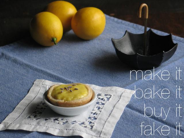 Lavender Lemon Mini Tarts