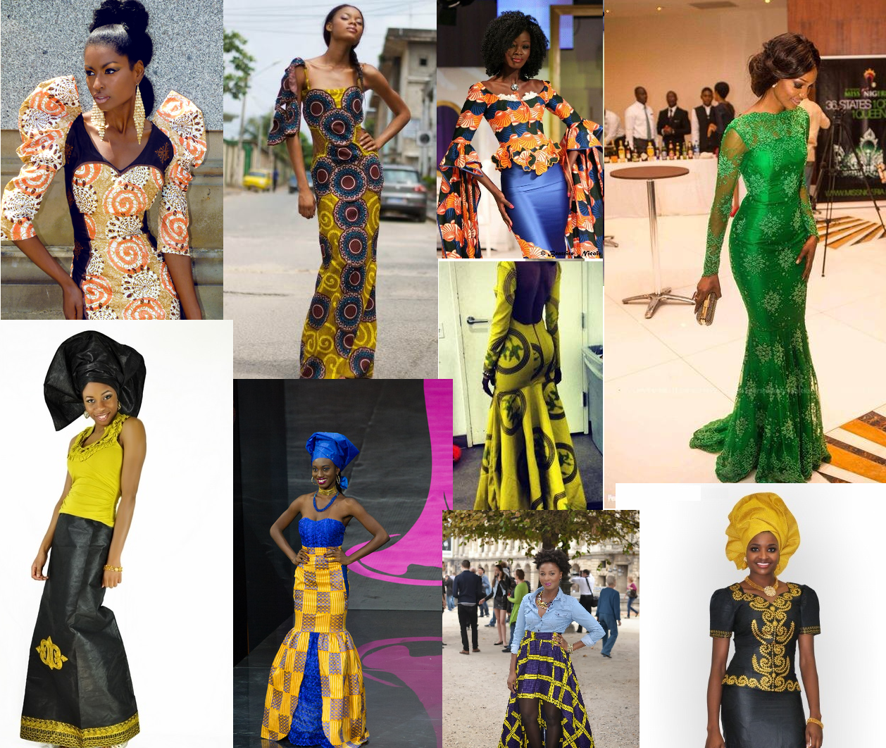latest Ankara/Gown Styles