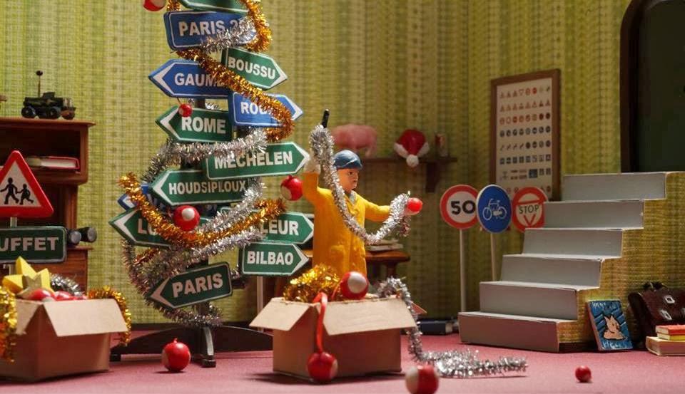 J.B. Spins: NYICFF '14: A Town Called Panic—The Christmas Log