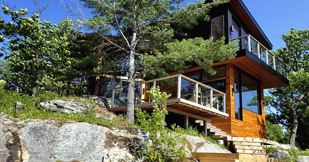 Six Mile Lake Cottage By Altius Architecture Housevariety