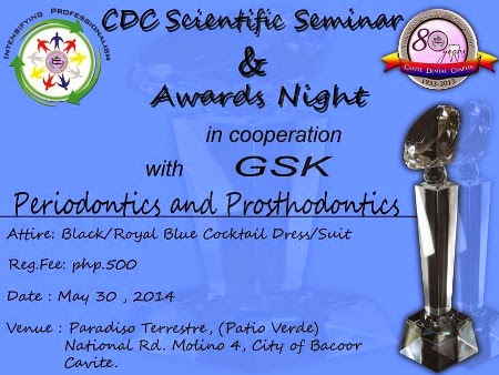 Cavite Dental Chapter Awards Night 2014