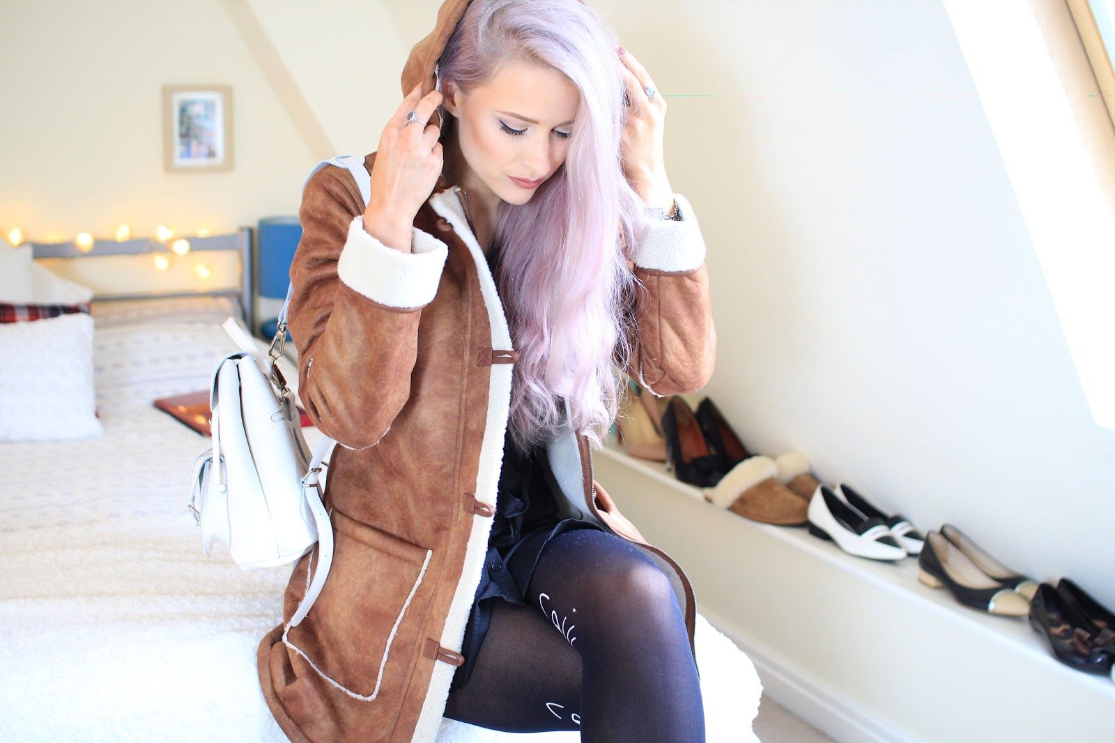 Bellfield faux Sheepskin coat