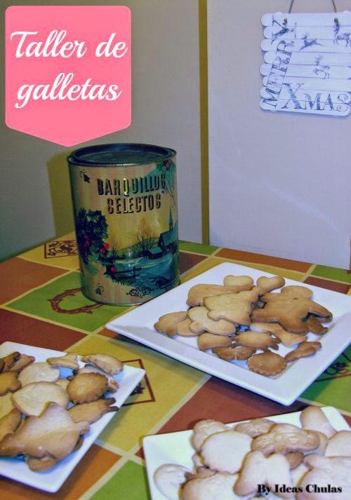 Presentación de las galletas horneadas