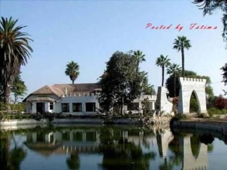 Centro Cívico y Laguna de Barranco