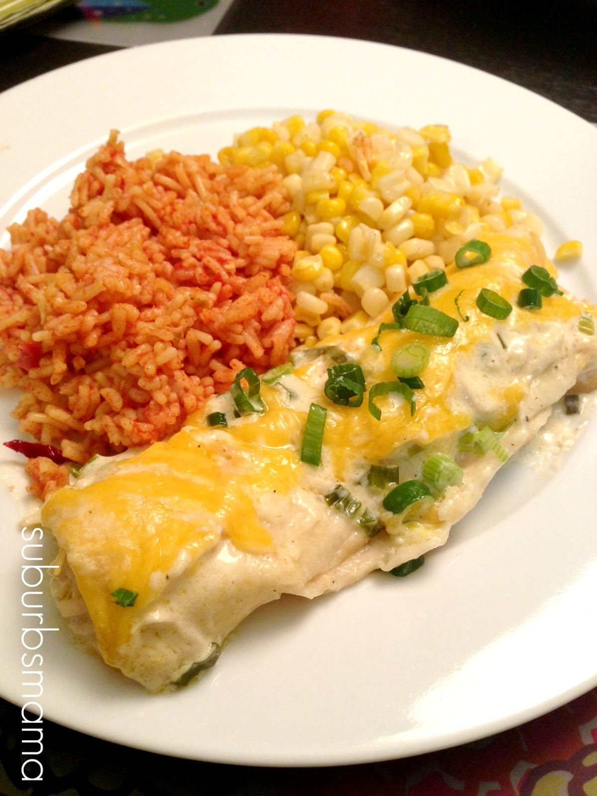 how to make green enchiladas easy