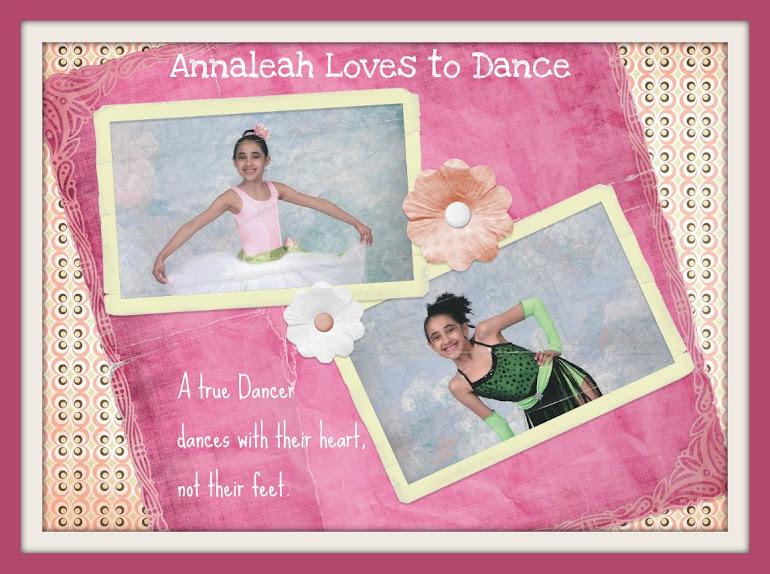 Annaleah Loves to Dance