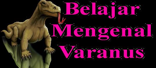 Belajar Mengenal Varanus