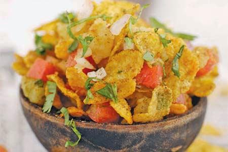 Cornflakes Bhel