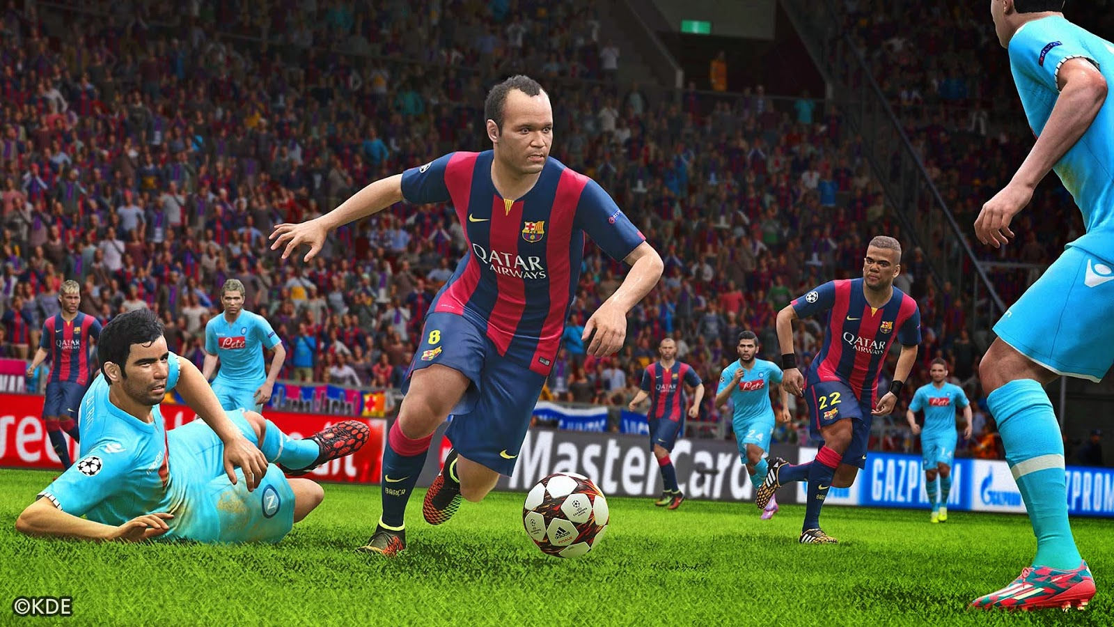 Download Pro Evolution Soccer (PES) 2015 Full Gratis