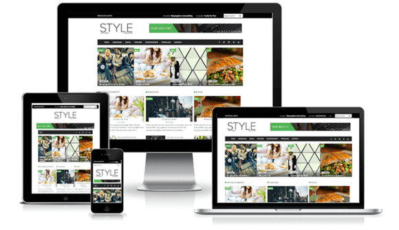 SALE Style Magazine Premium Blogger/Blogspot Template