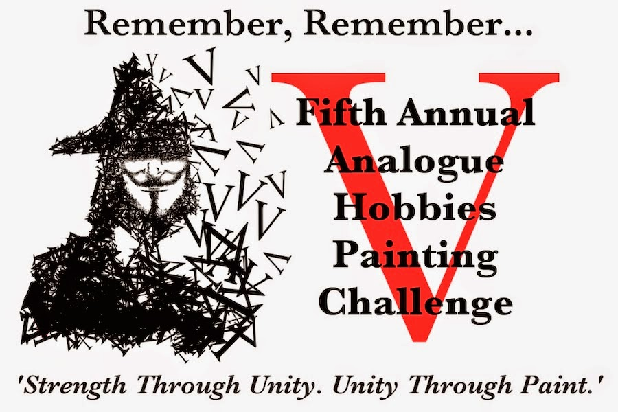 5th Annual Analogue Painting Challenge