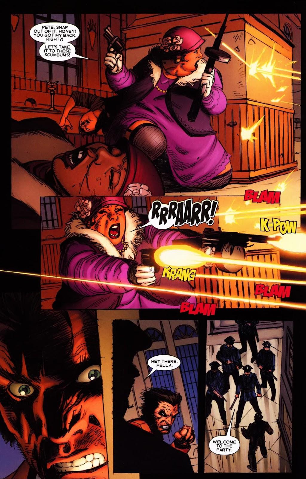 Read online Wolverine (2003) comic -  Issue #65 - 5