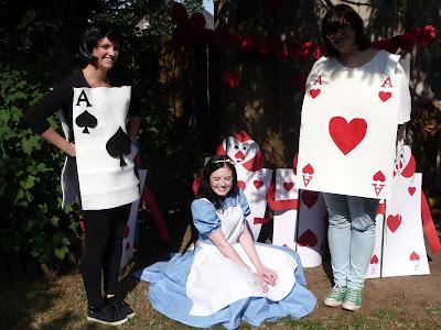 FlouncedLucia: Geburtstag: Alice in Wonderland: Kleid: Part 4: Party !