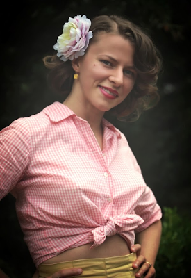 Summer Vintage Fashion Recap - Outfit 12 #vintage #fashion #1950s #pinup