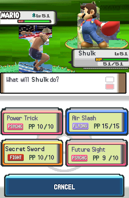 Shulk's (Xenoblade Chronicles) Pokémon moveset.