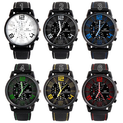 NEW..!! GT02 GT Grand Touring Sport Men Watch, Rp.195.000, Kode J161