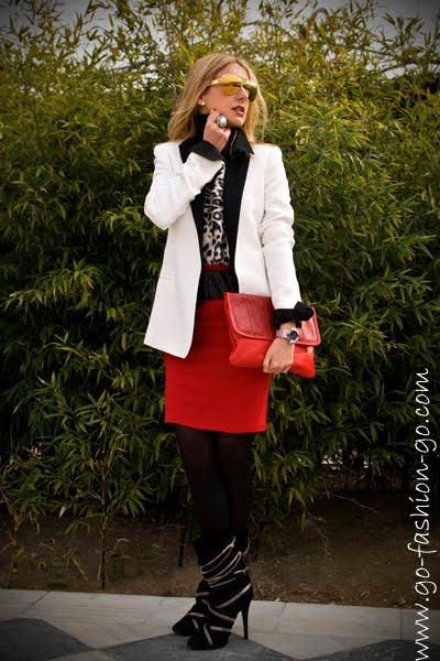 work wear in a fashion blog