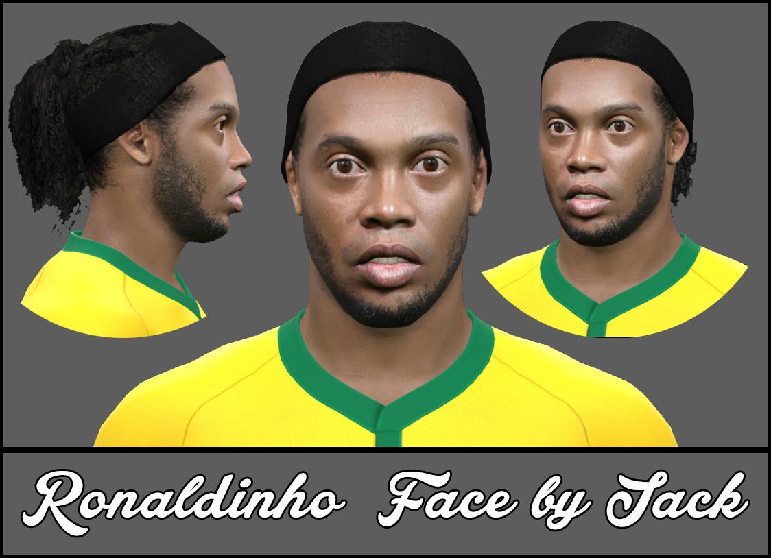 PES 2015: Face Ronaldinho Gaucho