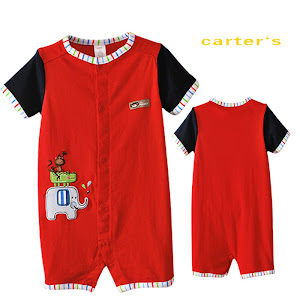 Carter's Romper -RM22 per pc, RM40 for 2pcs