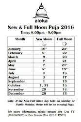 New Moon and Full Moon Days 2016