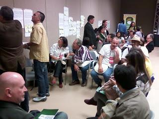 Discutição das propostas na Etapa Nacional da 1ª Consocial